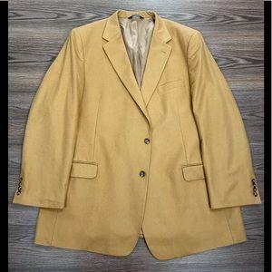 Jos A Bank Vicuña Tan Cashmere Blazer 50L